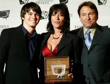 Jason Ritter, Katey Sagal and John Ritter at the 5th Annual Family Television Awards.